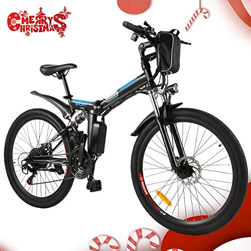 Speedrid Vélo de Montagne Pliable pour vélo électrique, 26/20 pneus Vélo électrique pour vélo...