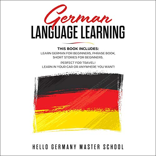 German Language Learning cover art