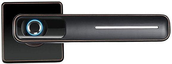 vap26 Slim, elektronisch deurslot, biometrische vingerafdruk, voor kantoor en thuis, zwart, gratis maat