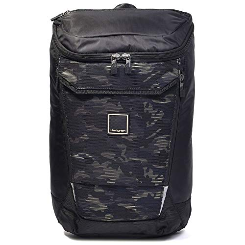 Hedgren Link Bond Large Backpack with Rain Cover 15,6' RFID Bond Large Backpack with Rain Cover 15,6' RFID Black/Camo Print