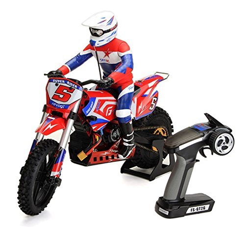Xiangtat SR5 1/4 Scale Super Rider RC Motorcycle Brushless SK-700001 RTR 1/4 Scale Dirt Bike Supe Stabilizing Electric RC Motorcycle