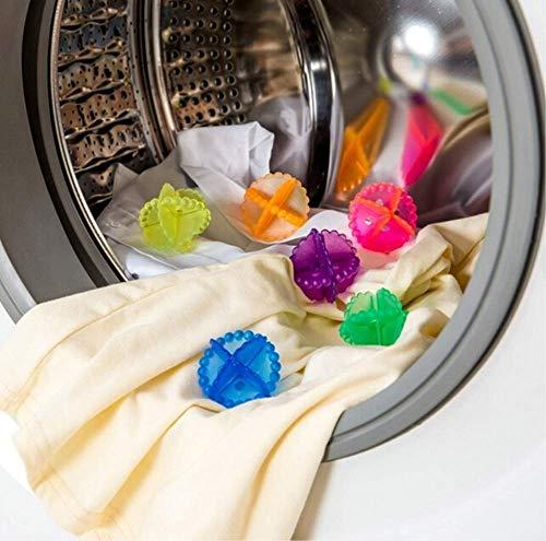 LKTingBax Magic Hair Removal Wasserij Bal Kleding Bra Clean Wasmachine Bal Chemicals Droger Ball(Kleur Random) maken het leven gemakkelijker Pack of 16 pcs