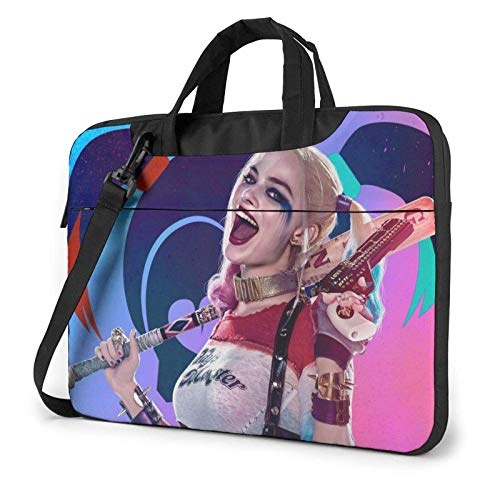 shenguang Ha-Rley Qui-Nn 13/14/15.6 Inch Laptop Messenger Shoulder Bag Case Sleeve Briefcase Protective Notebook Briefcase - Shakeproof Waterproof