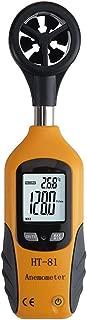 Hzikk Double Display Wind Speed Meter Weather Flow Weathermeter High Precision Portable