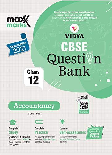 Ebook MaxxMarks CBSE Question Bank Accountancy Class 12 For 2021 Exams (English Edition)