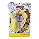 Sunny Days Entertainment BendEms Collectible Posable Action Figure - Scooby Doo Daphne (220027)
