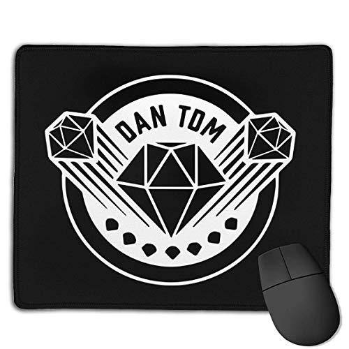 Dantdm Dan TDM Diamond Personalisierte Rechteck rutschfeste Mauspad Spiel Mousepad Computer Notebook 25 * 30Cm