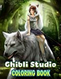 Ghibli Studio Coloring Book: Perfect Coloring Book For Adults and Kids With Incredible Illustrations Of Ghibli Studio For Coloring And Having Fun.