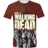 The Walking Dead Hands Sub Camiseta, Blanco, S para Hombre