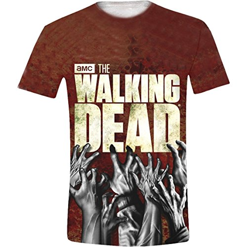 The Walking Dead Hands Sub Camiseta,...