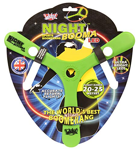 Wicked Vision WKNIL Wicked Night Booma LED Outdoor Boomerang grün