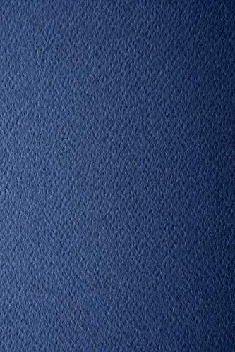 10 Blatt Indigo-Blau 220g Tonkarton einseitig strukturiert DIN A4 210x297 mm Prisma Indaco Strukturkarton bunt Bastelkarton mit Struktur farbig Prägekarton bunt Kartenkarton strukturiert A4