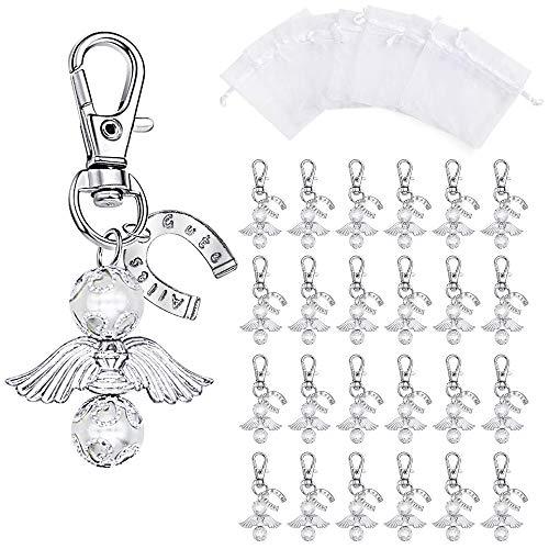 Anokay 48tlg Perlenengel Anhänger Gastgeschenke Hochzeit