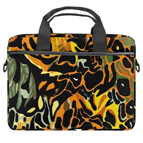 Protective Carry Case Luxury Computer Briefcase Suitable for 13.4'-14.5' Laptop with Display Weird Fish