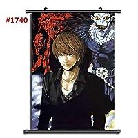 デスノートアニメマンガウォールポスタースクロールホームデコレーションウォールアートファンがギフトを集める19.7x29.5inch / 50x75cm