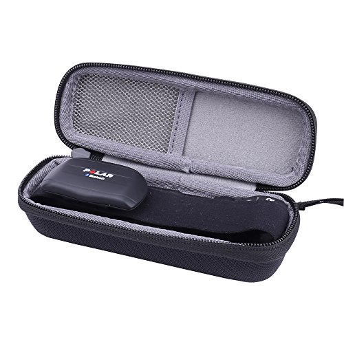Buy for Polar Heart Rate Sensor/Monitor/Fitness Tracker Chest Strap Hard Case fits H7/H10/Wearlink b...