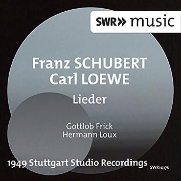 Schubert & Loewe: Lieder