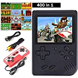 Cypin Handheld-Konsole Video Game Console inkl. 400 Retro Arcade Games 3 Zoll LCD Display...