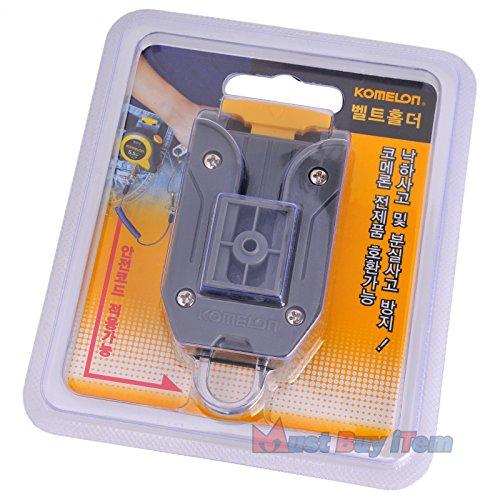 Komelon Quick-Draw Belt Clip Holder Tools for Measuring Tape