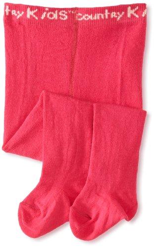 Country Kids Collants de luxe en coton pour fille - Noir - 2 mois