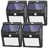 Solar Lights Outdoor [42 LED/3 Working Mode], SEZAC Solar Security Lights Solar Motion