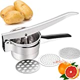 Best Potato Ricers - JmeGe Potato(fully steamed) Ricer/Fruit and Vegetables Masher Food Review
