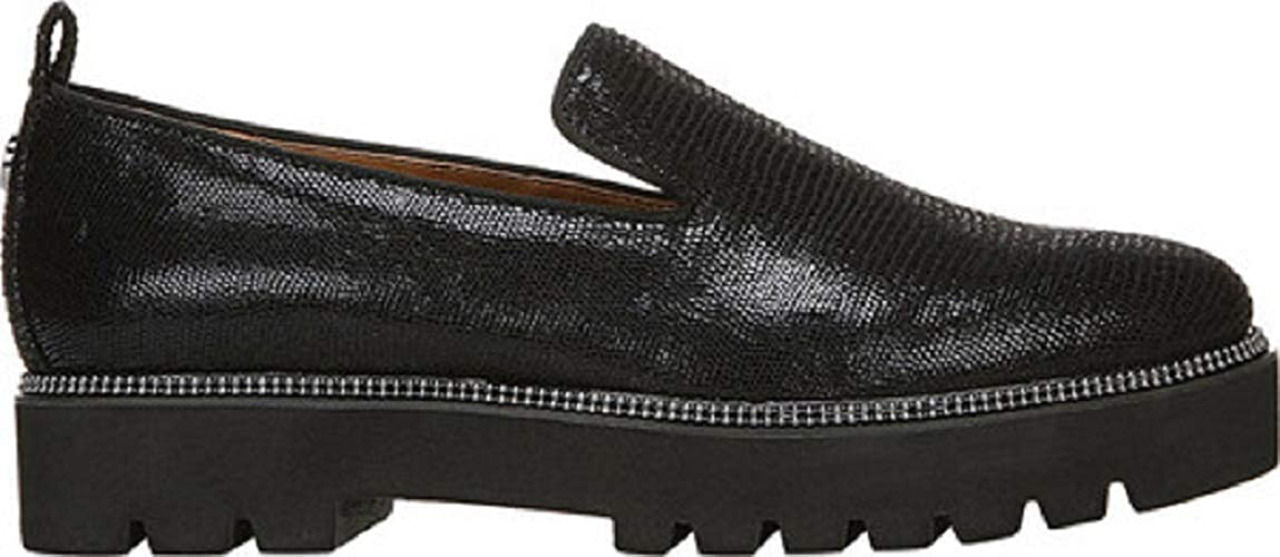 Franco Sarto A-Brice Womens Loafers (8 M, Black)