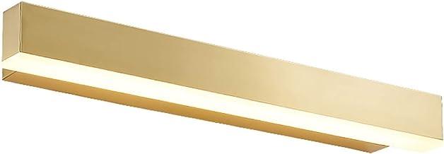LICHUAN Koperen Spiegel Licht Acryl Intrekbare Led Spiegel Koplamp Make-up Lamp voor Badkamer Dressing Tafel Wandlamp Lich...