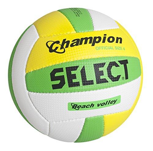 Select Champion Beachvolleyball, 4, weiß gelb grün, 2144800054