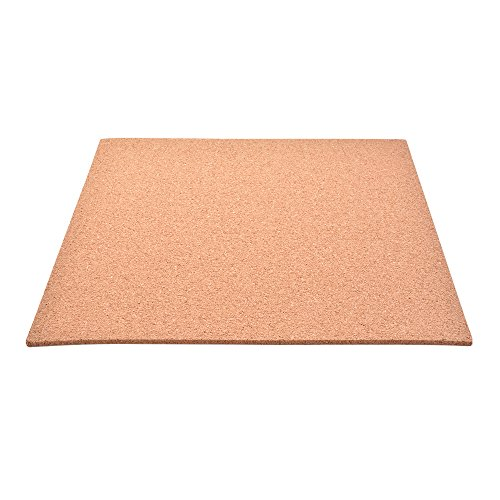 300 * 300 * 3mm Heat Bed Thermal Hotbed Insulation Square Pad Plate with Cork Glue for MK2 MK3 3D Printer