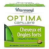Vitarmonyl Cheveux et ongles forts, pour 1 mois, capsules - La boîte de 60 capsules, 29,1 g