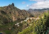CALVENDO Tejeda und der Roque Bentayga, Gran Canaria,