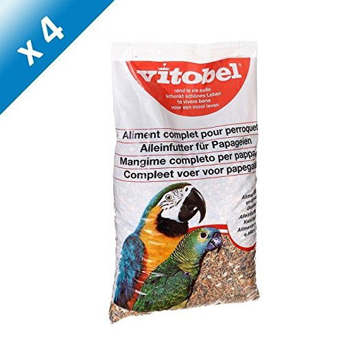 VITAKRAFT Vitobel coussin - Pour perroquets - 2,5kg (x4)