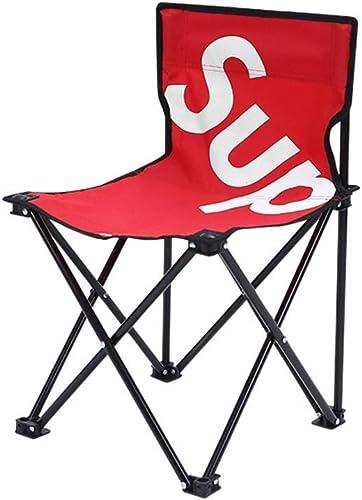 FS Chaise De Camping portable, Chaise Pliante De Camping en Plein Air Mazar Petite Chaise Chaise De Plage Chaise De Pêche