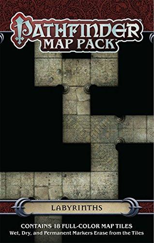 Preisvergleich Produktbild Pathfinder Map Pack: Labyrinths
