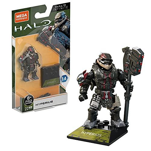 Mega Construx Halo Heroes Series 14 - Figurine articulée 5 cm - Hyperius - Neuf