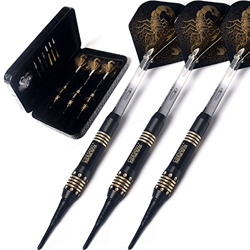 CUESOUL Black Scorpion Deluxe Softdarts - Design 1