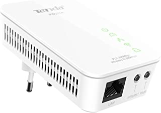 Tenda PW201A adattatore di rete powerline 300 Mbit/s Collegamento ethernet LAN Wi-Fi Bianco 1 pezzo(i)