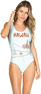 Maiô Regata com Decote nas Costas Hawaii VERDE G