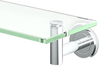 Gatco 4246 Latitude II Glass Shelf, Chrome
