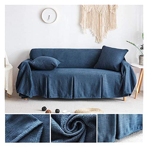 NEWRX Cubierta de sofá Sofá de algodón Sofá Sofá Sofá Sofá Cubiertas para la Sala de Estar Couch Funda Funda Sofá Proteger Muebles 1/2/3 plazas (Color : Color 4, Specification : 200x150cm)