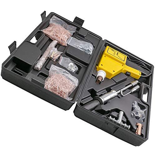 MGGRP Equipo de soldadura de puntos Spotter 800 en maletín, soldador de pernos