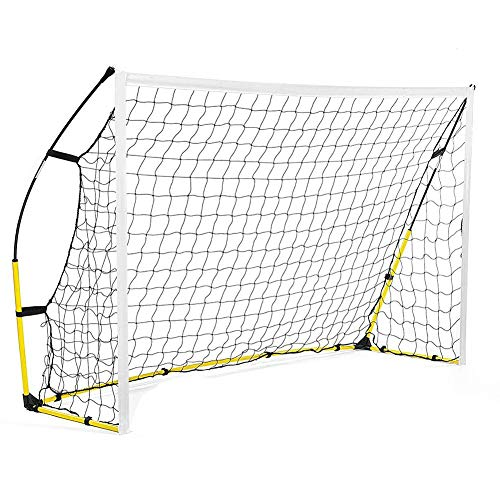 Keenso Football Net, Portable Full Size Soccer Net Football Kicking Cage Soccer Goal Netting Junior Sports for Games and Training for Kids and Teens(5.913.94ft)