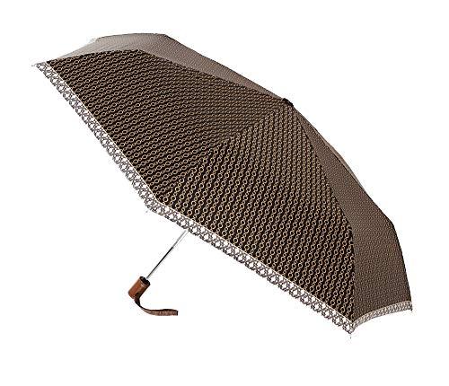 Paraguas Vogue Abre-Cierra automático. Filtro Solar. Elegante Paraguas Plegable. Estampado Motivos Cadenas....