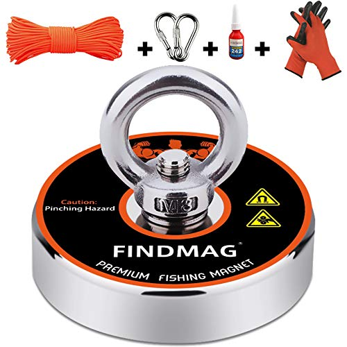 FINDMAG Super Strong Neodymium Fishing Magnets