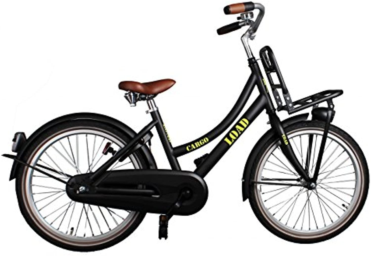 Cargo Load 20 Inch 33 cm Girls Coaster Brake Black