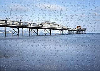 Media Storehouse 252 Piece Puzzle of Paignton Pier on a Sunny Day, Devon, UK (18414851)