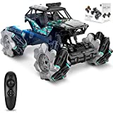 Remote Control Car, Remote Control Truck for Boys/Girls Kids Toys RC Monster Truck as Christmas Birthday Gifts for Age 6 7 8 9 10 11, Rechargeable High Speed 4WD 2.4Ghz Drift Car with 360°Rotating