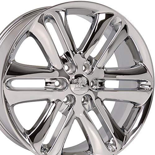 OE Wheels LLC 22 inch Rim Fits Ford F-150 Wheel FR76 22x9 Chrome Wheel Hollander 3918