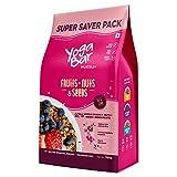 Yogabar Breakfast Cereal & Muesli | 92% Fruit and Nut + Seeds +